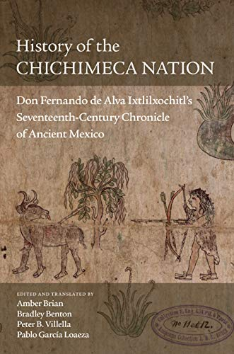 History of the Chichimeca Nation book cover